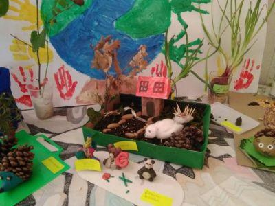 Изложба на изделия от природни материали - Изображение 1