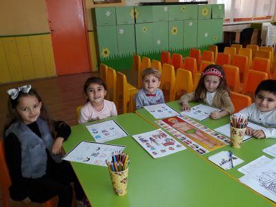 Участие на група №5 от Снежанка в проект АПСПО - ДГ №8 Слънце - Търговище