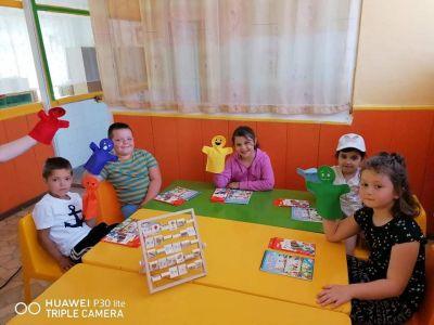 Снимки на децата от група №6 - ДГ №8 Слънце - Търговище