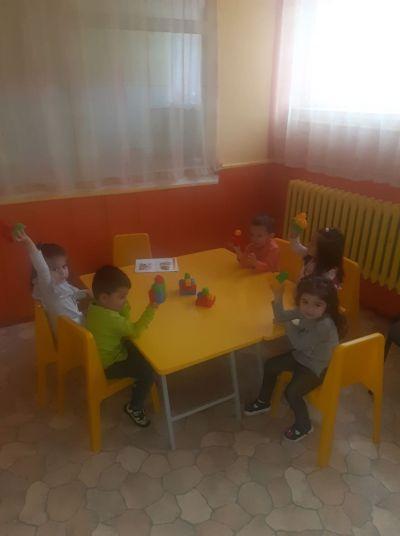 Участие на група №4 от Буратино в проект АПСПО - ДГ №8 Слънце - Търговище