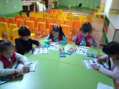 Участие на група №7 от Малкият принц в проект АПСПО - ДГ №8 Слънце - Търговище